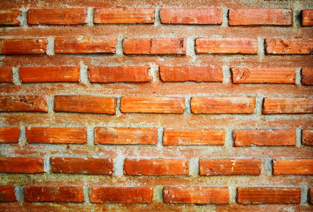 Fond de mur de brique close-up