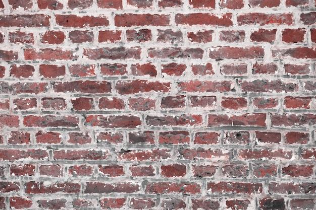 Fond de mur de brique minable