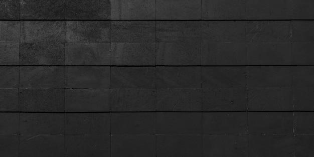 Fond de mur de brique noire