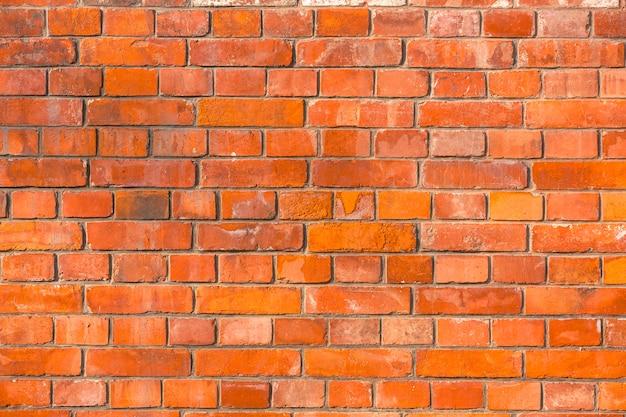 Fond de mur de brique rouge ou de la texture.
