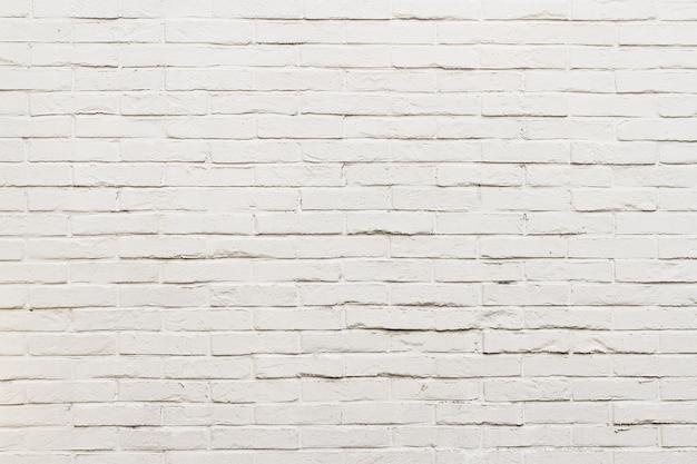 Fond de mur de briques blanches abstraites avec fond