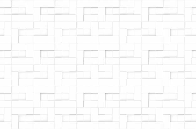 Fond de mur de briques blanches modernes sans couture