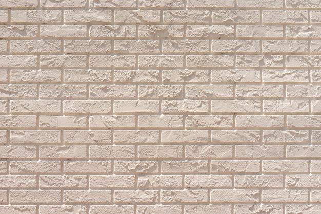 Fond de mur de briques blanches
