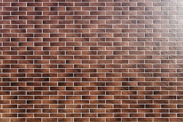 Fond de mur en briques rouges