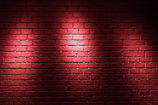 Fond de mur de briques rouges