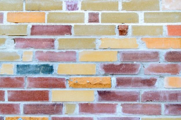 Fond en mur de briques.