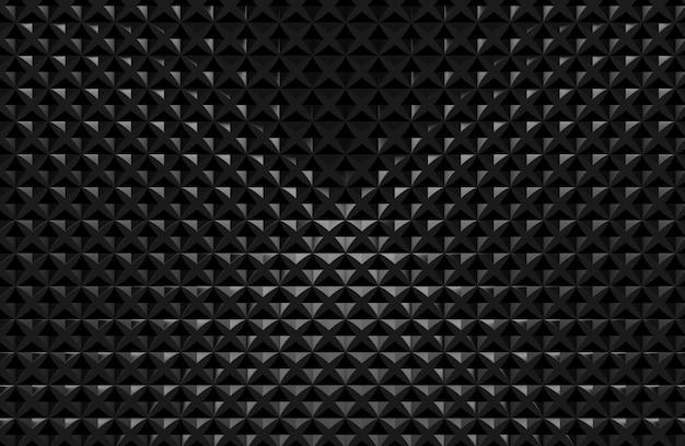 Fond de mur de carreaux de bloc de cube simple minimal sombre