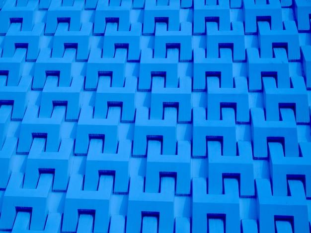 Fond de mur de ciment bleu