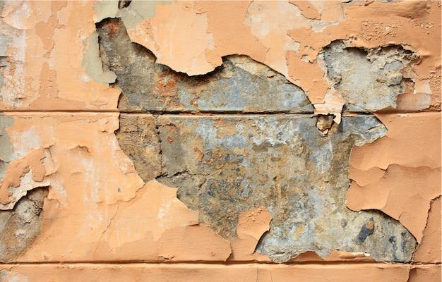 Fond de mur fissuré