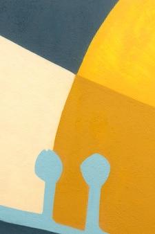Fond de mur de formes abstraites