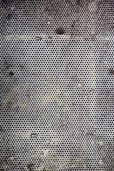Fond de mur percé à l'extérieur