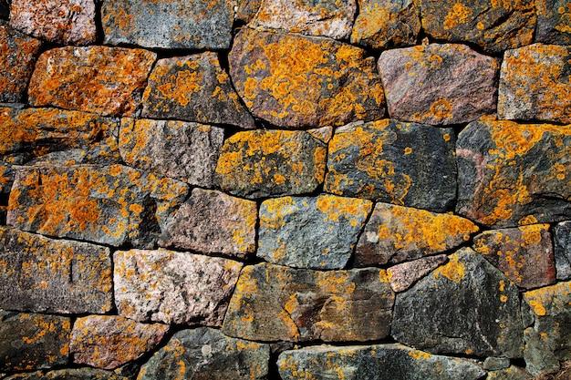Fond de mur en pierre abstraite