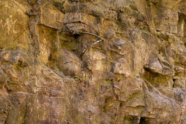 Fond de mur de pierre de montagne nature