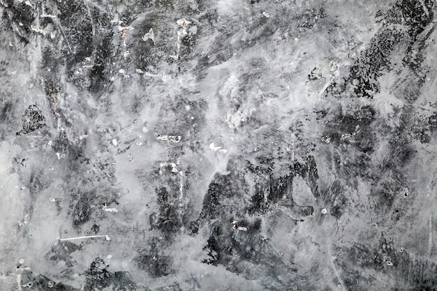 Fond de mur de plâtre de béton gris abstrait peint