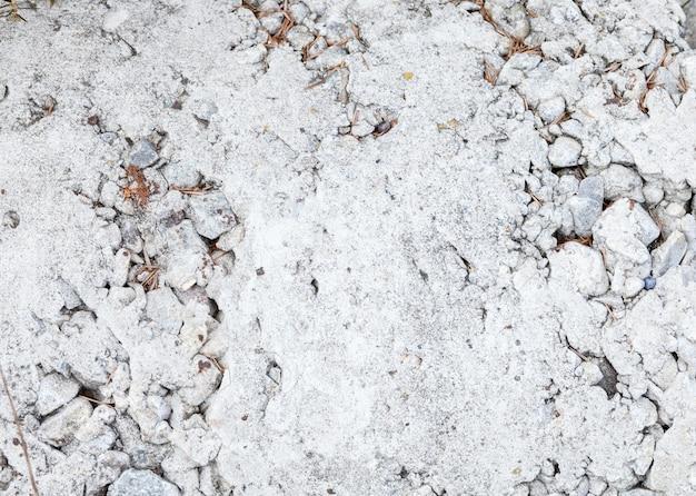 Fond de mur de plâtre en pierre de béton fissuré vieilli et style de texture.