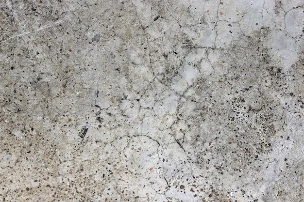 Fond de mur de plâtre de pierre en béton fissuré