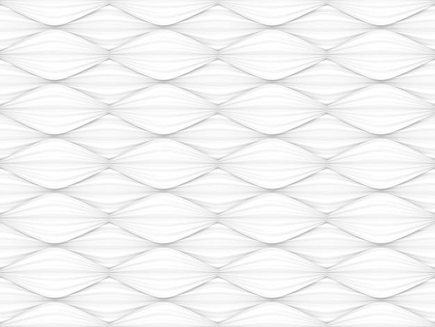 Fond de mur de style sans couture abstraite moderne courbe blanche oeuvre style.