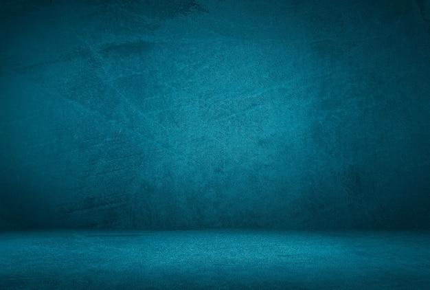 Fond De Mur De Texture Béton Bleu Grunge Vintage Photo Premium
