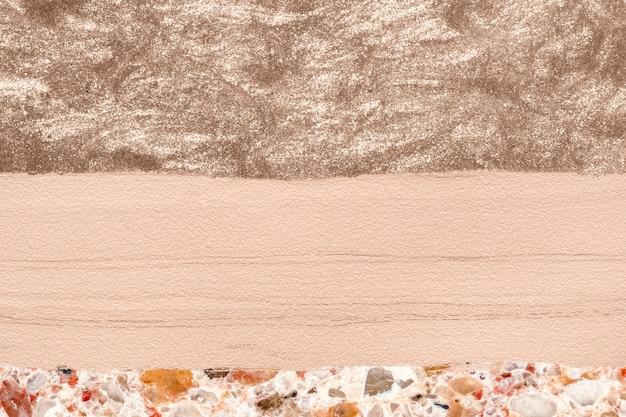 Fond de mur texturé brun