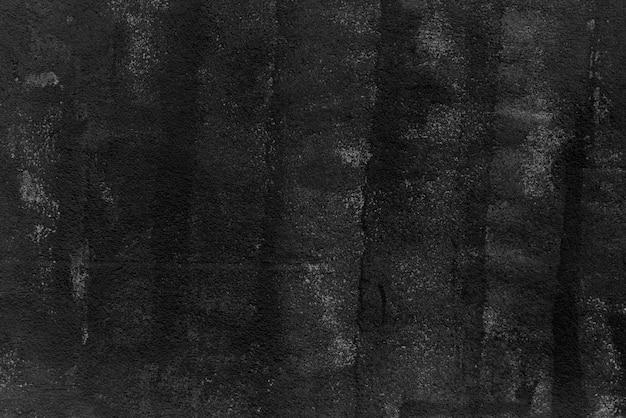 Fond de mur texturé lisse noir