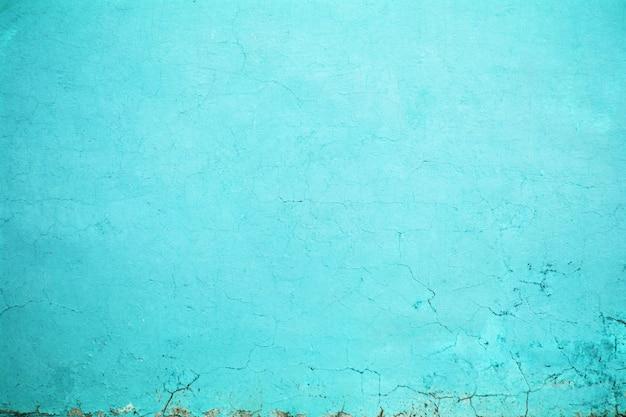 Fond de mur turquoise
