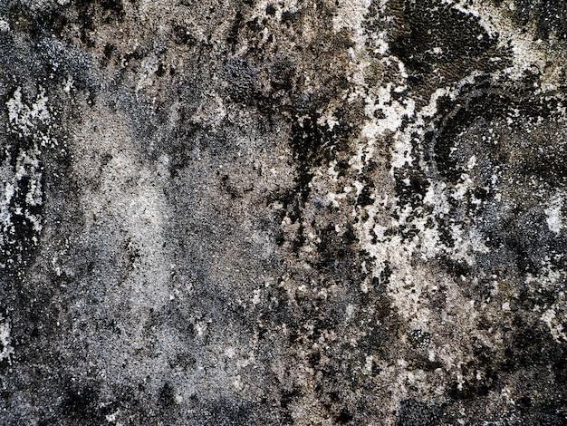 Fond de mur vintage en béton fissuré, texture de mur ancien, sale vieux mur de vieille maison.