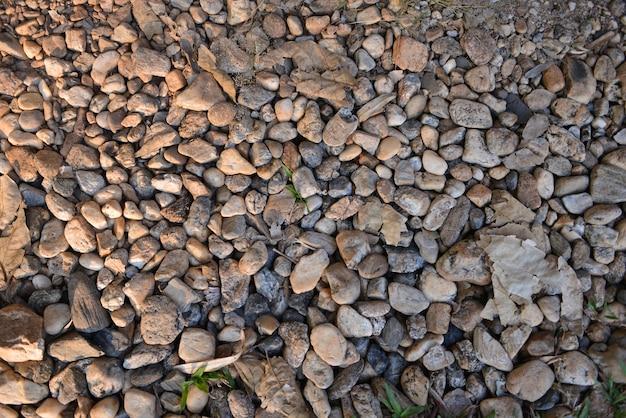 Fond de la nature des pierres de galets de mer
