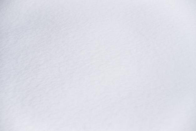 Fond naturel de neige blanche fraîche ou texture