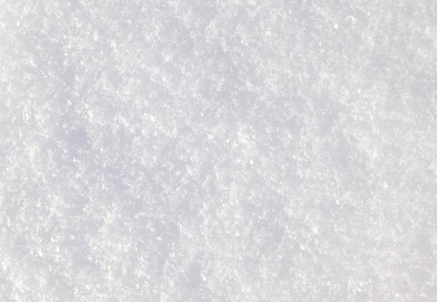 Fond de neige fraîche