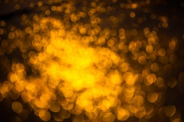 Fond de noël festif abstrait avec des lumières défocalisées bokeh
