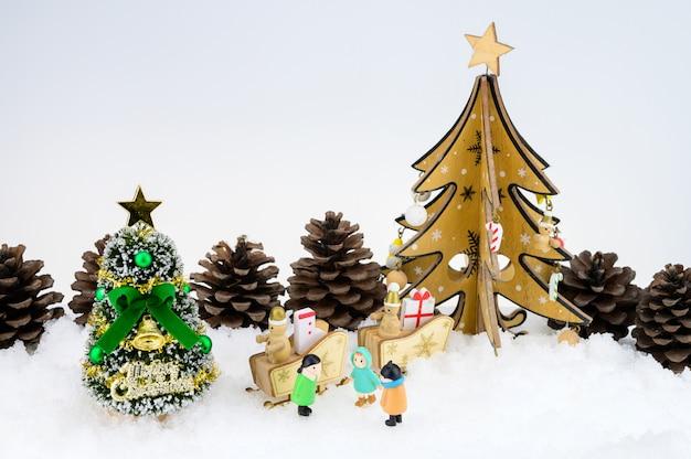Fond de noël festif