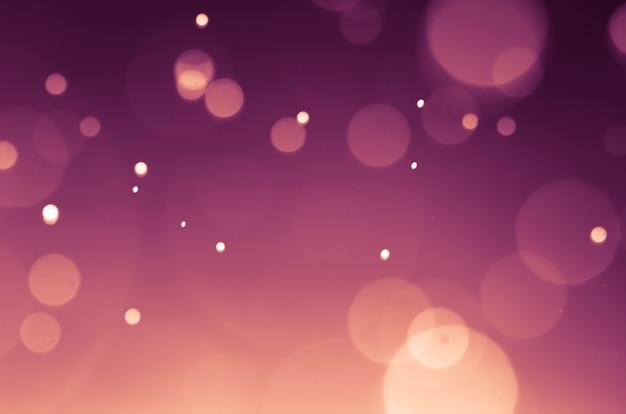 Fond de noël festive abstrait élégant avec des lumières de bokeh.