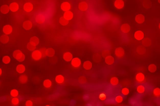 Fond de noël texture bokeh rouge