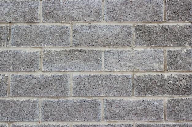 Fond noir et blanc de mur de briques