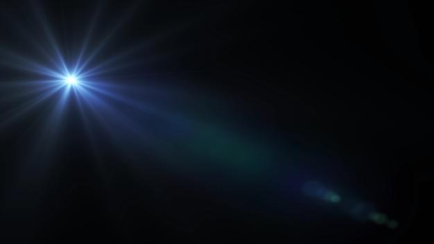 Fond noir avec des rayons lumineux fond de rayons cosmiques étoile lumineuse
