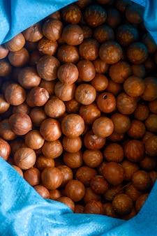 Fond de noix de macadamia