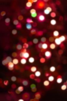 Fond de nouvel an clair flou coloré bokeh.