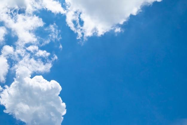 Fond de nuages blancs ciel.