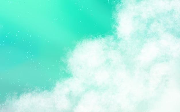 Fond de nuages doux