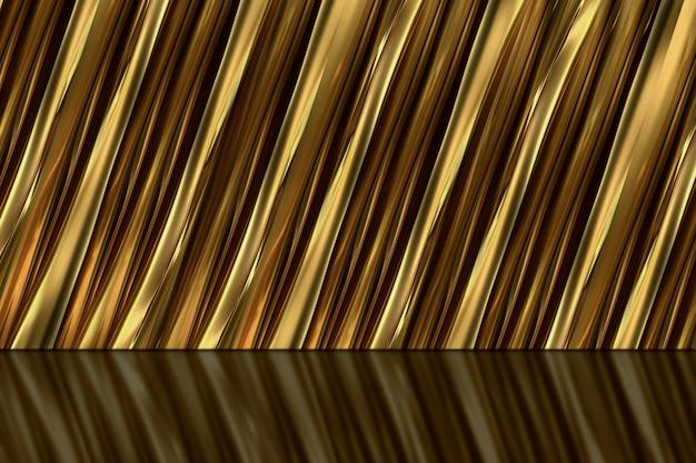 Fond d'or pour produit premium