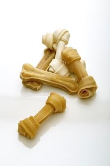 Fond d'os de chien