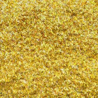 Fond de paillettes d'or métalliques