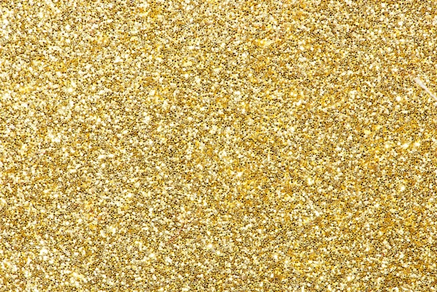 Fond de paillettes d'or