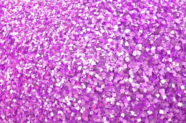 Fond de paillettes roses et fond rose clair, fond de confettis de paillettes roses