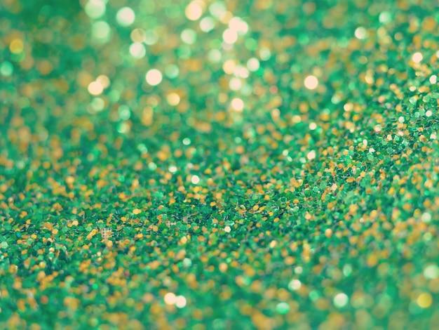 Fond de paillettes vertes vieux style vintage rétro