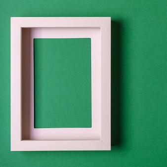 Fond de papier abstrait minimalisme colofrul avec cadre d'image vide.