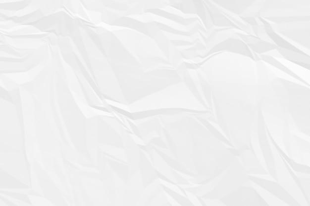 Fond de papier blanc froissé se bouchent