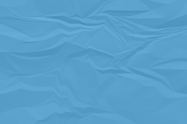 Fond de papier bleu froissé se bouchent