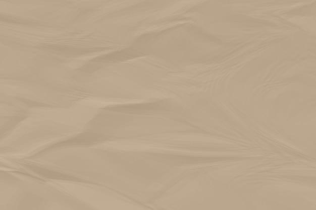 Fond de papier brun froissé bouchent