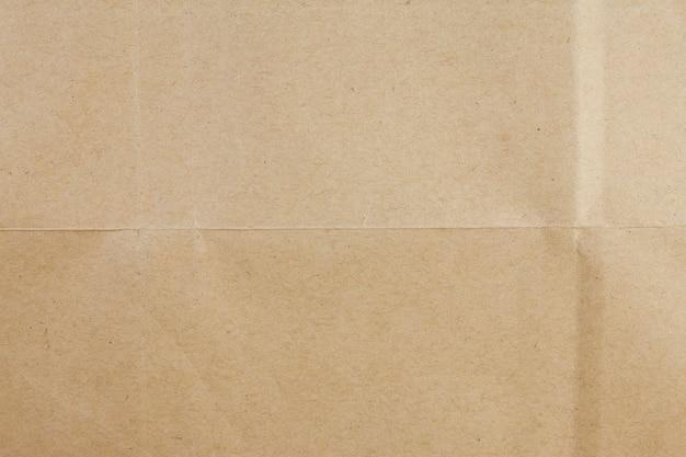 Fond de papier brun recyclé.